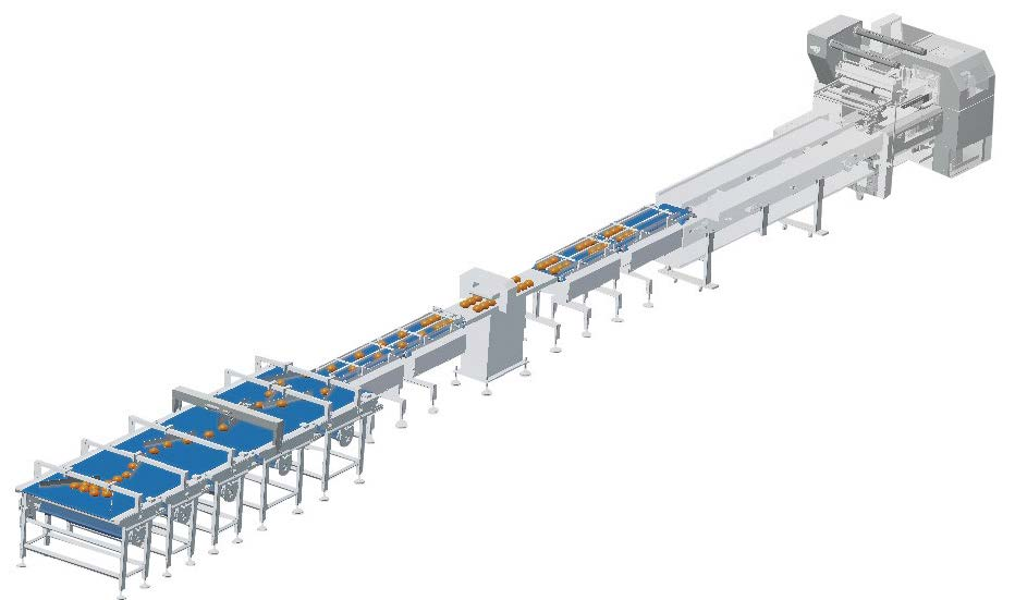 Group bakery packaging system