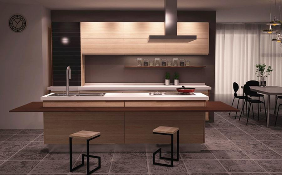 Fadior Stainless Steel Kitchen - Z012 Into the Forest