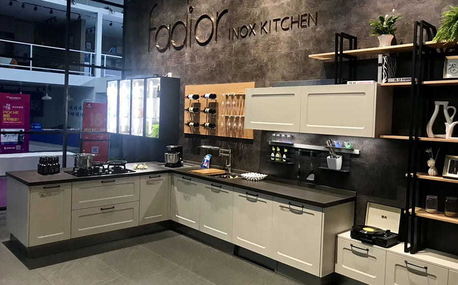 Fadior Stainless Steel Kitchen - X017 Lucca