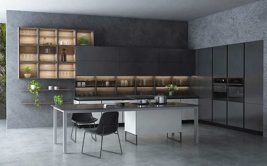 Fadior Stainless Steel Kitchen - X019 Summer Time