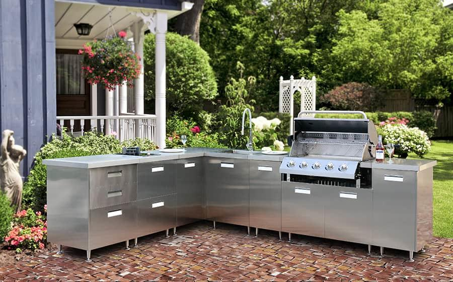 Fadior Stainless Steel Kitchen - HY001 Party
