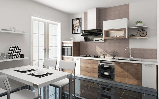 Fadior Stainless Steel Kitchen - EEFY8002 Crownwell