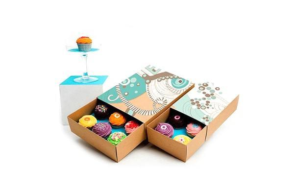 CC-6 Cupcake Packaging Box