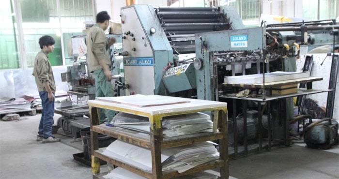 Preparing Printing Machine
