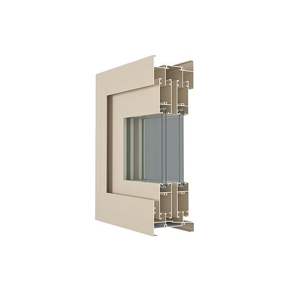 ALUMINIUM PROFILE FOR SLIDING WINDOW 72B