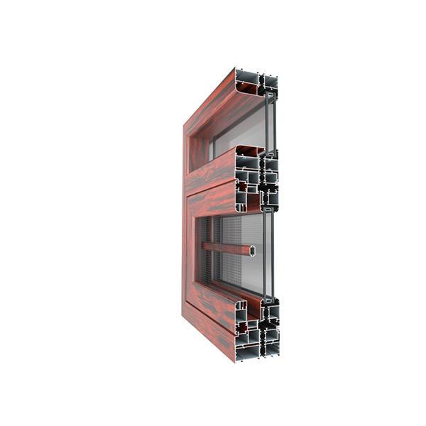 ALUMINIUM PROFILE FOR THERMAL BARRIER WINDOWS JYD-120