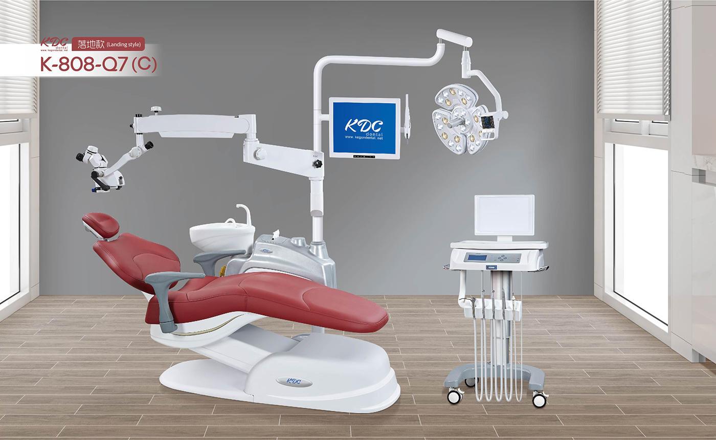 Dental Chair K-808-Q7 (C) Landing Style