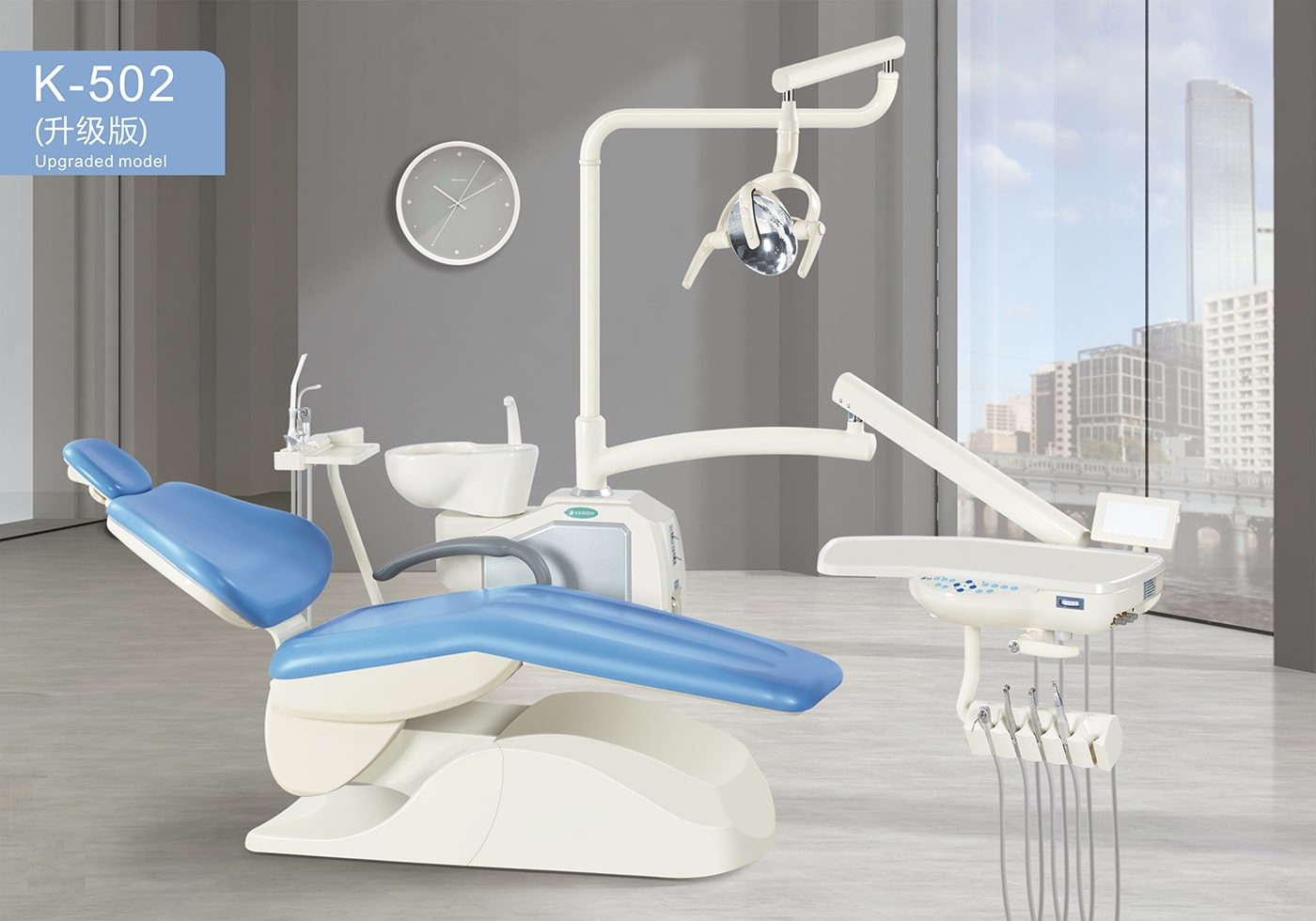 Dental Chair K-502A Upgraded Model