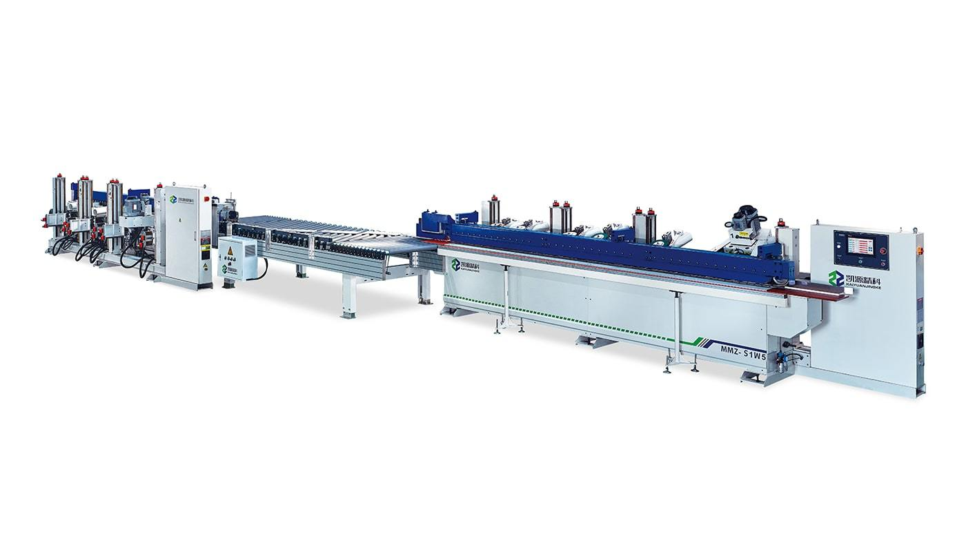 Edge Sanding Machine MMZ-S1W5 Positive and Negative Connection