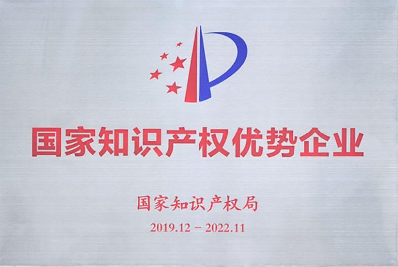 国家知识产权优势企业(封面图)