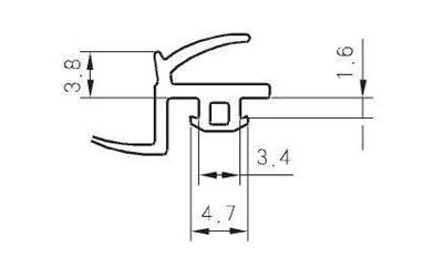 热塑性弹性体-框扇、扇胶条类