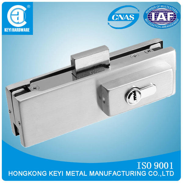 Wholesale Hydraulic Bottom Glass Door Patch Lock Fitting V-50