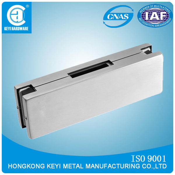 Hot Sale Heavy Duty Glass Door Removable Pivot Patch Fitting Glass Clamp V-80