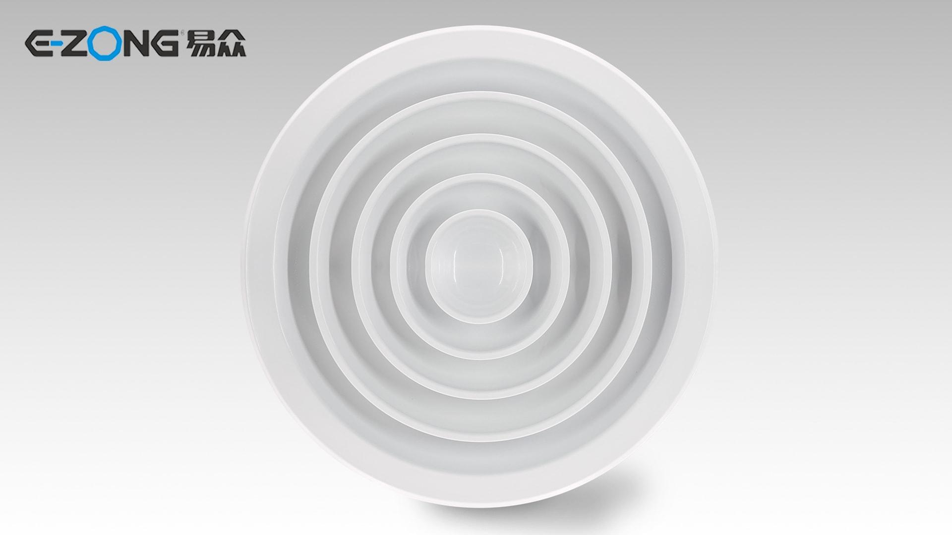 Round Ceiling Diffuser with Damper FK005