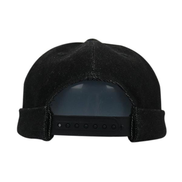 High Quality Vintage Cotton Washed Distressed Hats Fashion Brimless Embroidered Custom Blank Fitted Camper Cap