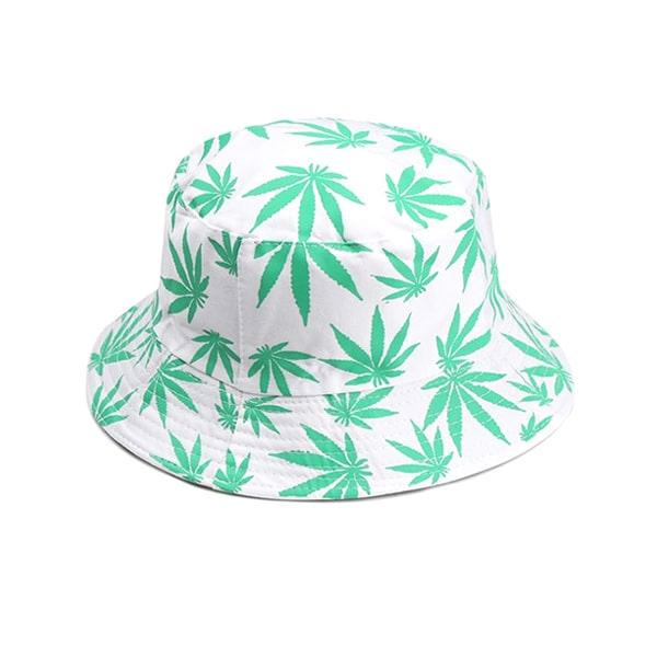 Women Men Couple Cotton Fishing Hat Hip Hop Cap Maple Leaf Panama Bucket Hat Sun Flat Top Fisherman Hats Caps