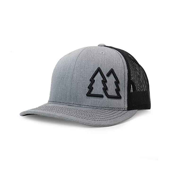 Simple Pine Trees Trucker Hats for Men Adjustable Snapback Mesh Cap Great for Outdoors