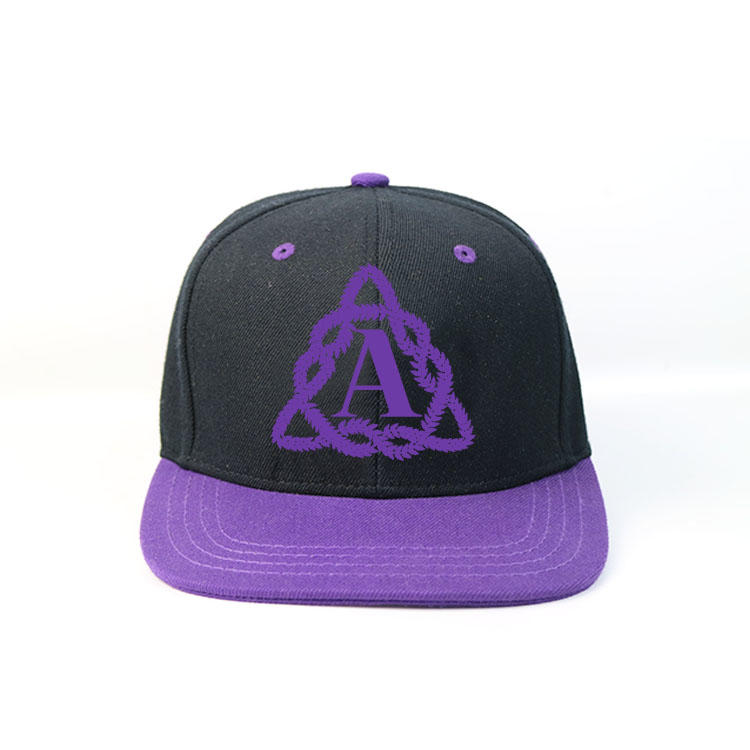 Flat Bill Hip Hop Style Suitable for Custom Embroidery and Printing Snapback Hat