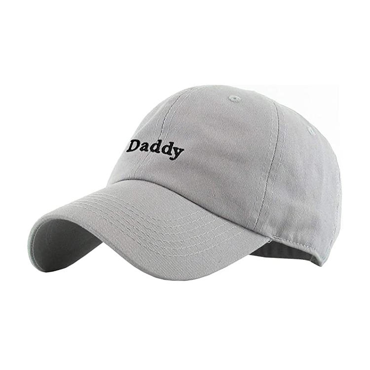 Daddy Dad Hat Baseball Cap Vintage Distressed Classic Polo Style Adjustable Cotton