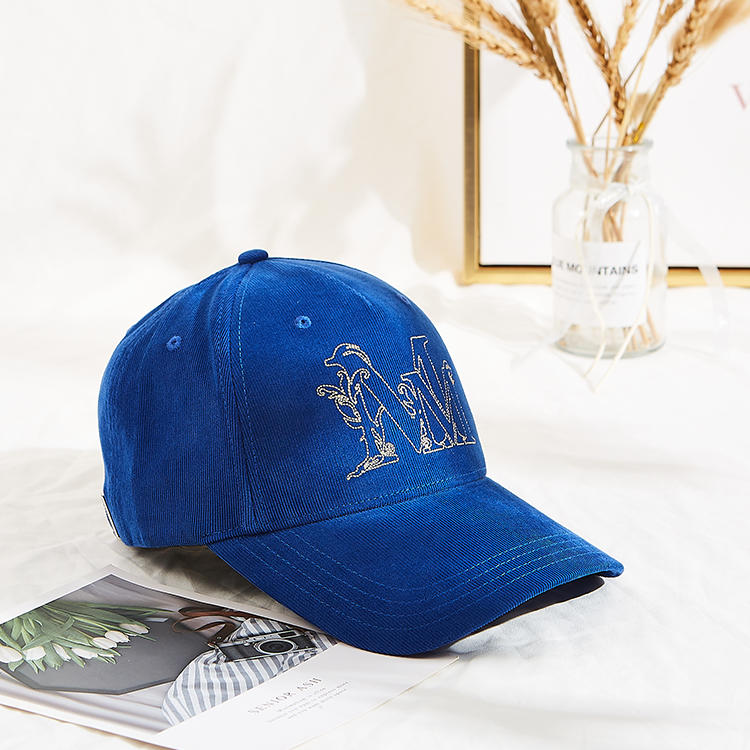 2021 fashion high quality  Corduroy baseball cap for outdoor sports running