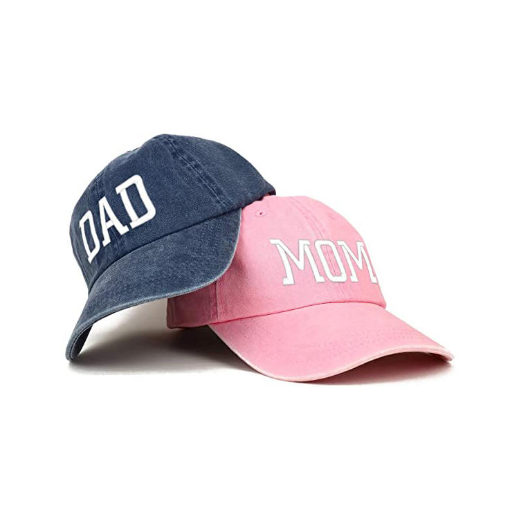 Ace Branded Unisex Washed Dyed Cotton Adjustable Solid Baseball Cap