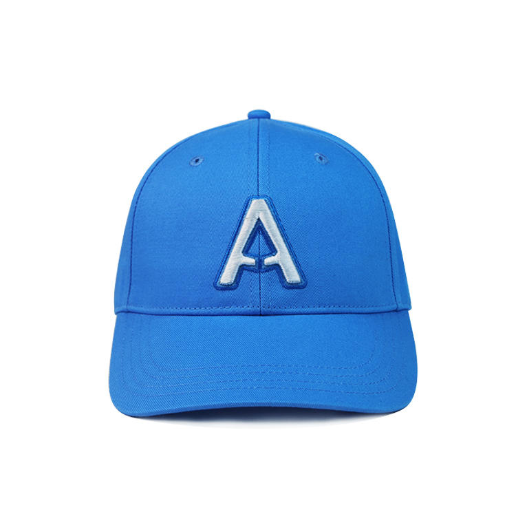 100% cotton six panle curved brim Breathable and comfortable baseball cap for hot summer