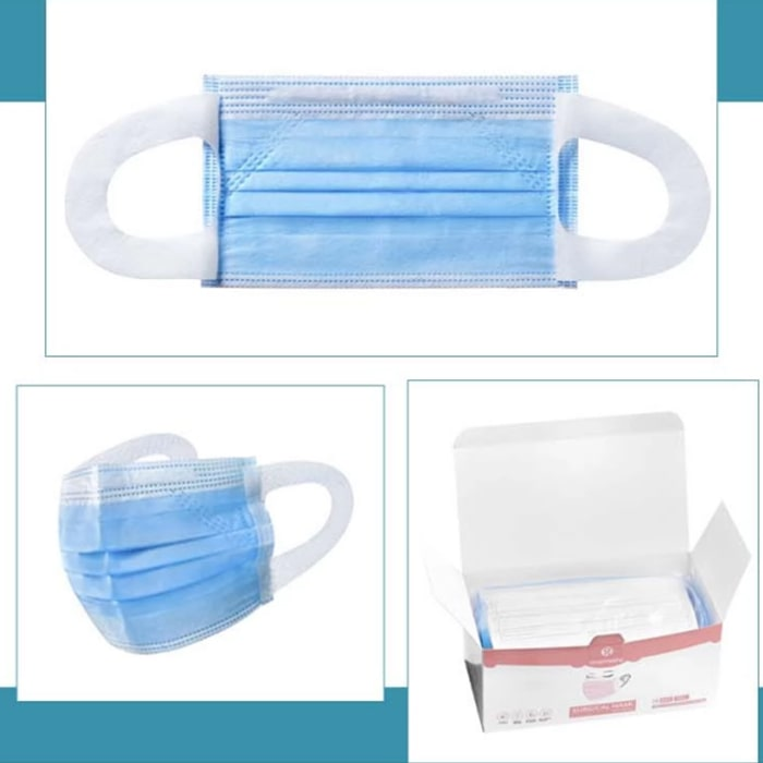 Ear Band Type Disposable 3-ply Face Mask