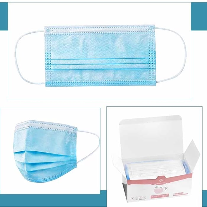 Ear Rope Disposable 3-ply Face Mask