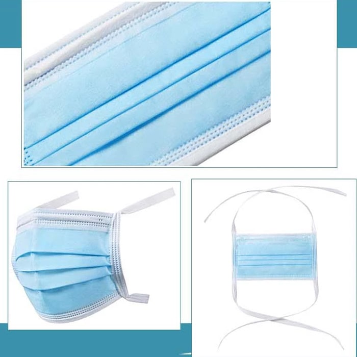 Bandage Disposable 3-ply Face Mask