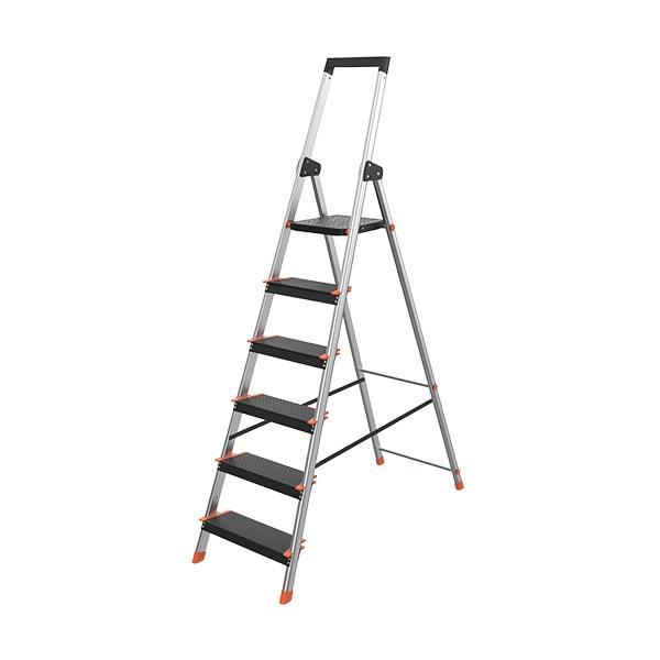 6 Step Aluminum Ladder WK3016C