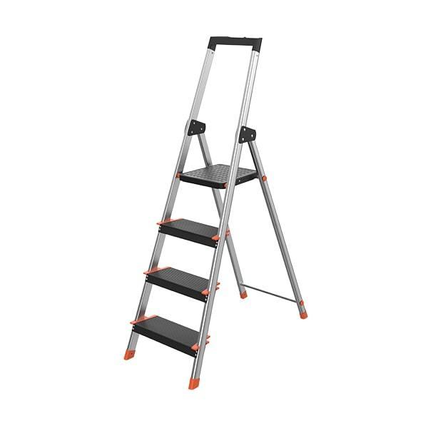 4 Step Aluminum Ladder WK3014C