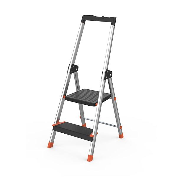 2 Step Aluminum Ladder WK3012C