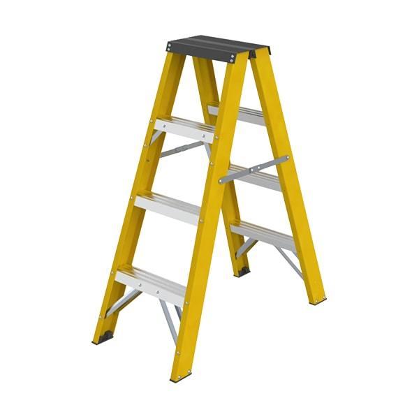 Double Sided Fiberglass Ladder WK7205-4