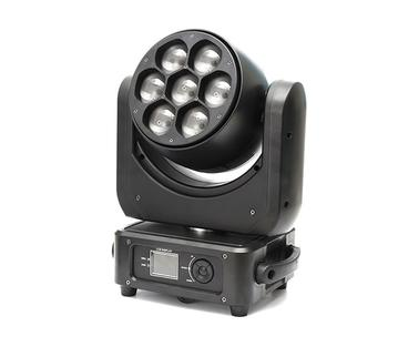 7PCS*40W RGBW 4in1 LED Wash Zoom Moving Head Party Light