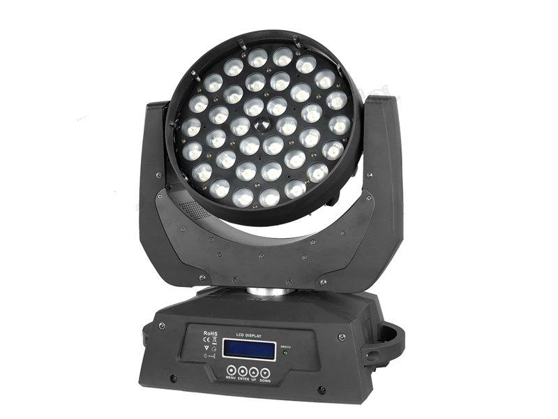 36x10w rgbw 4in1 led moving head wash light