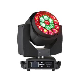 19pcs Big Bee Eye LED Moving Head Zoom Wash Light