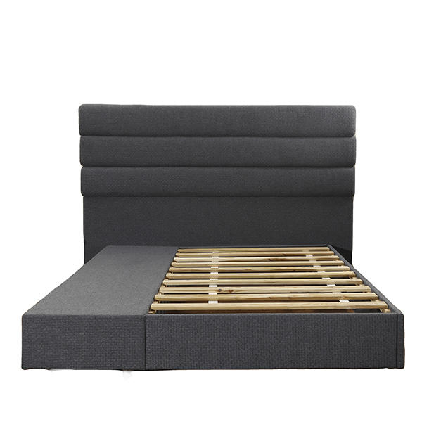 Hot selling valuable price sofa fabric high quality King size bed