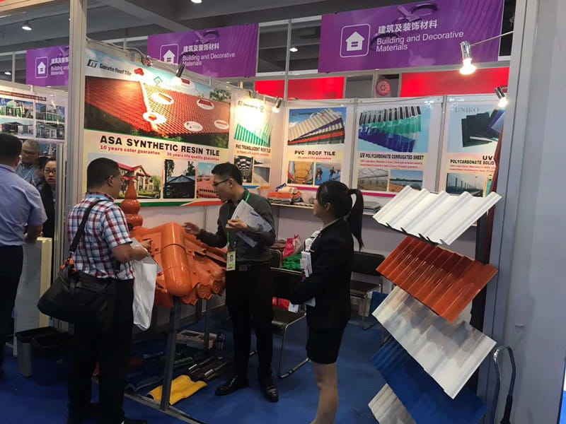 Congratulated GOEATE ROOF Took Part In The 123th Canton Fair Complete Success
