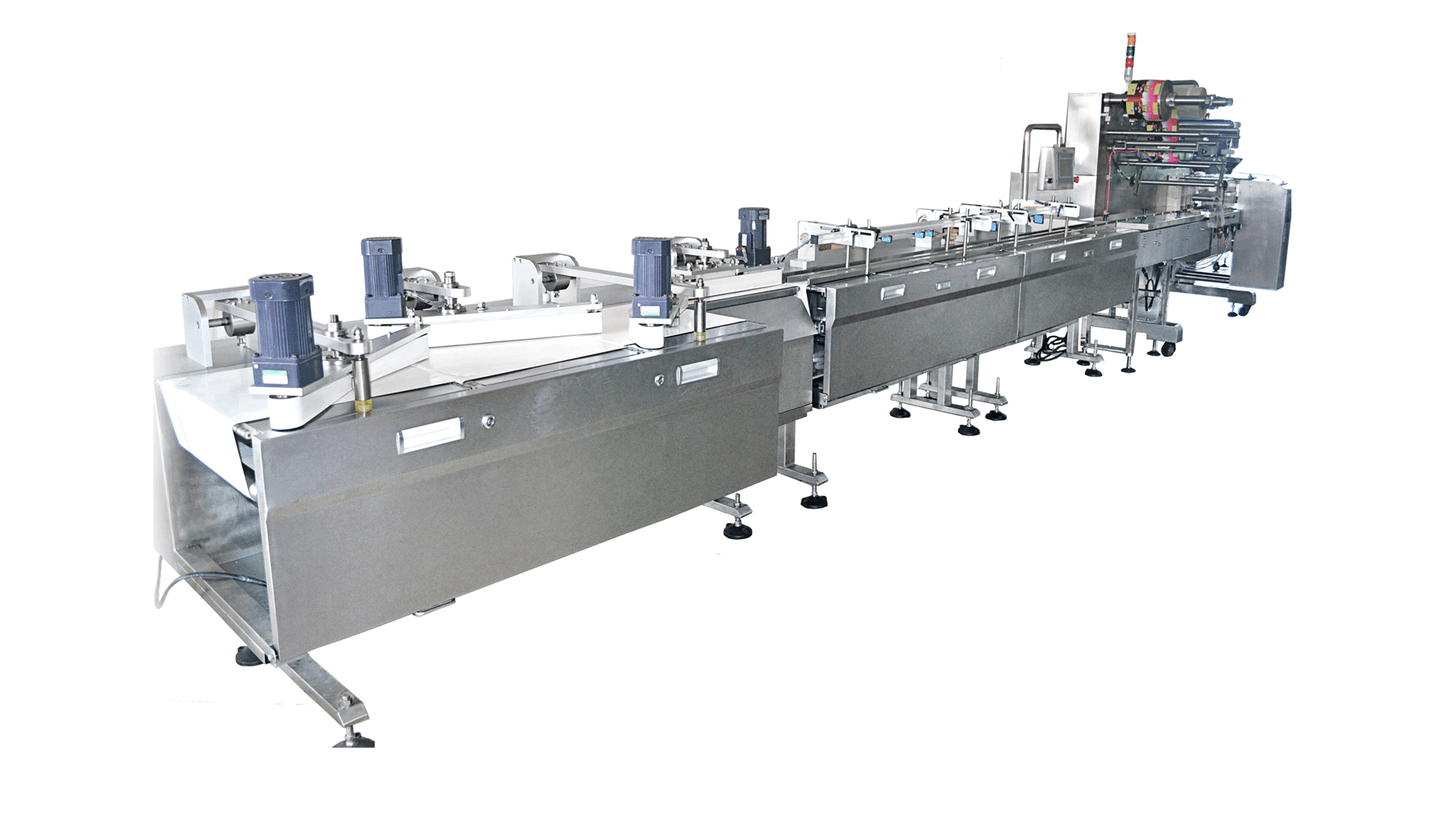 Left & Right Side Guider Traditional Feeding & Packing Line
