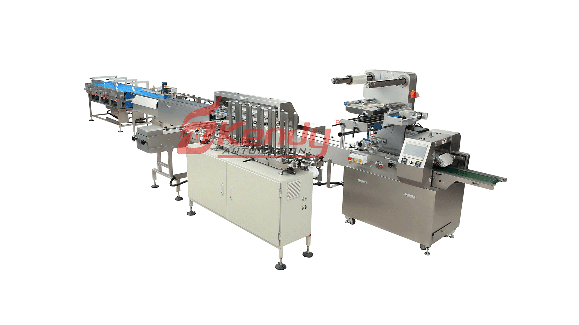 Automatic with Tray Packing Line
