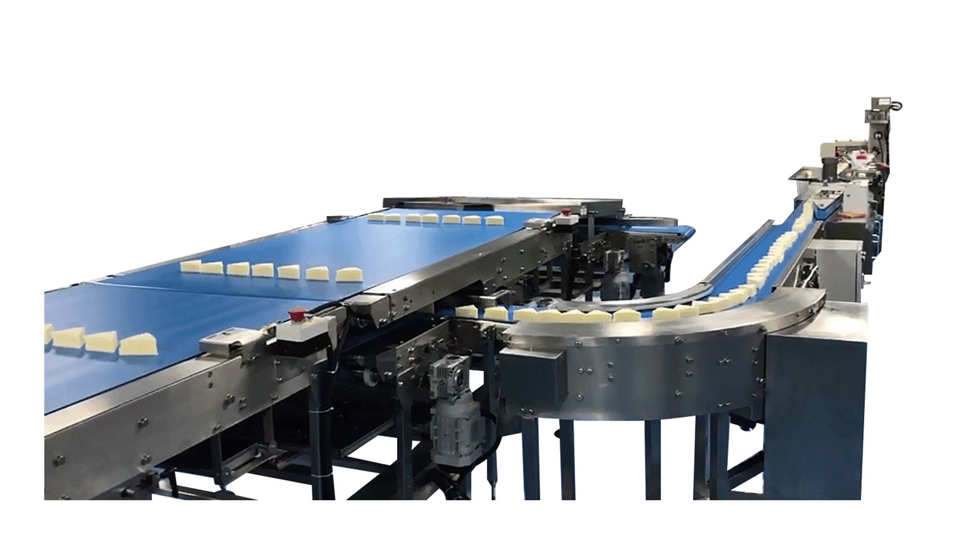 Hem or low Style Traditional Feeding & Packing Line