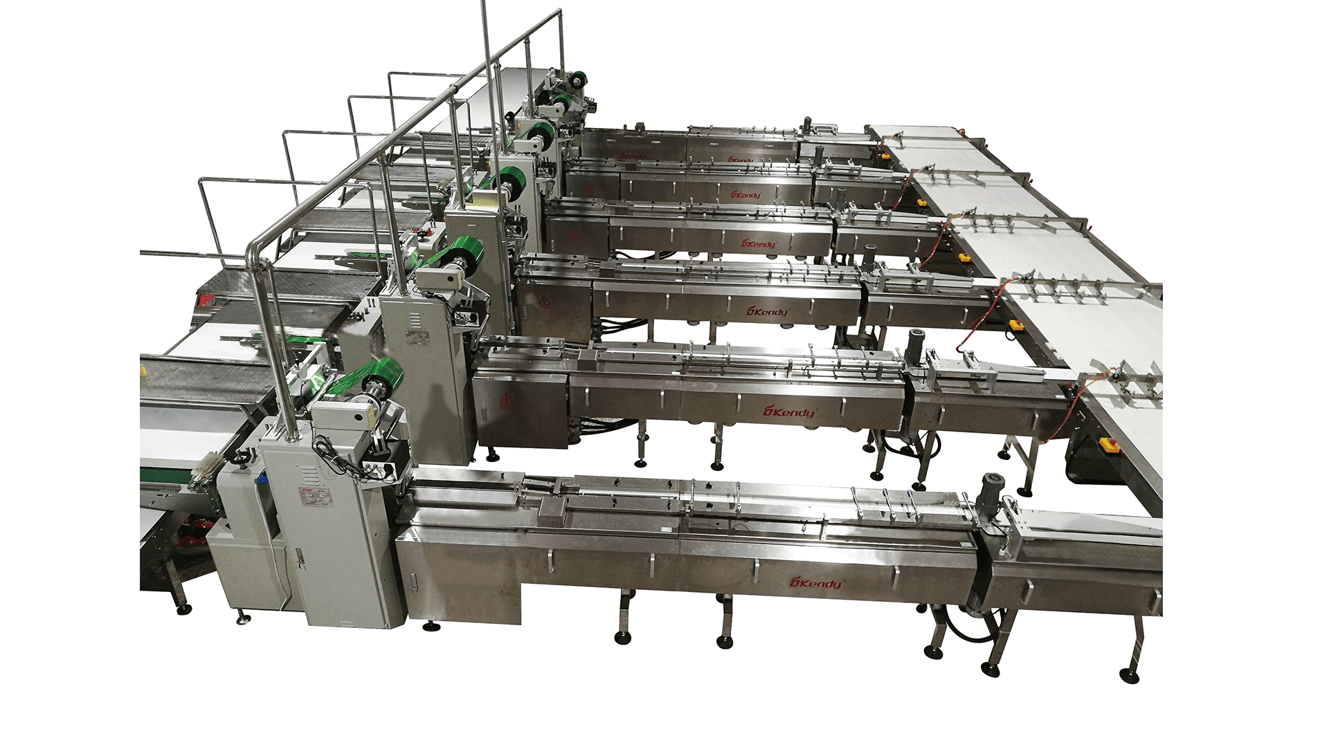Traditional Feeding & Packing Line