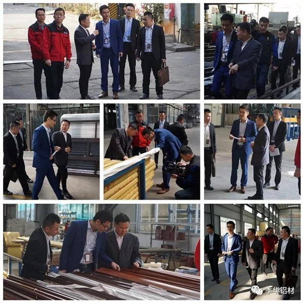 The production base of Guangdong Jihua aluminium Co., Ltd. - intensive cultivation and ingenuity
