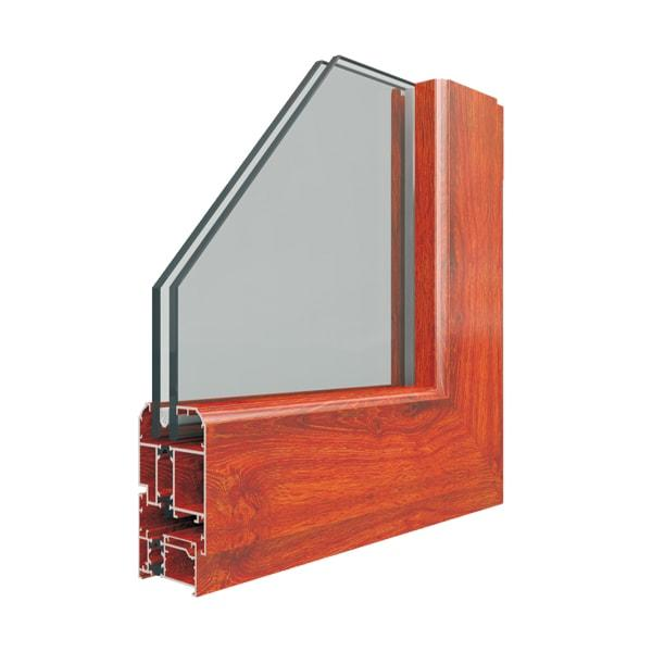 Aluminum XMGR55 Insulated Flat Window