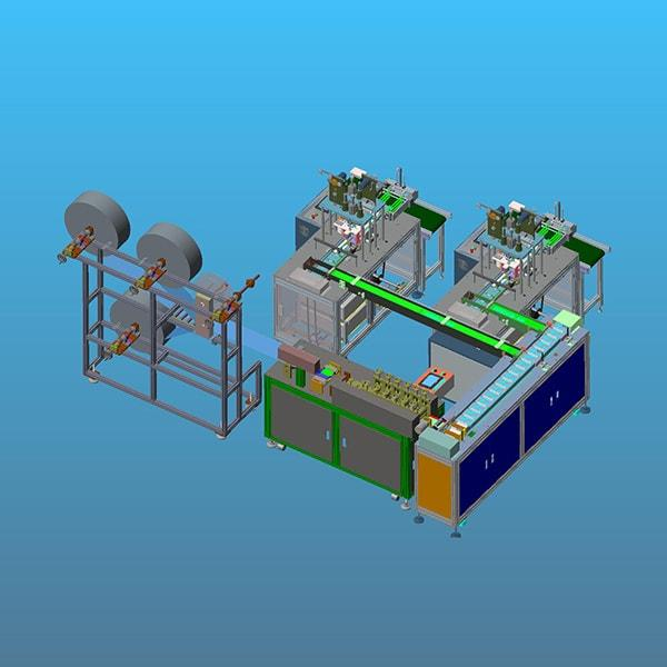 Fully Automatic High Speed Face Mask Making Machine