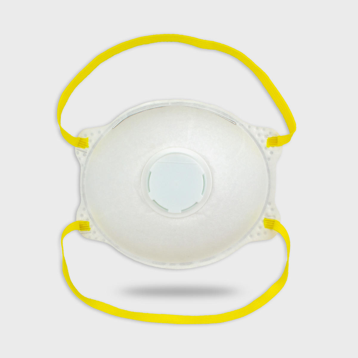 Cup-Type Filter Mask with Valve (Head-Belt Style)