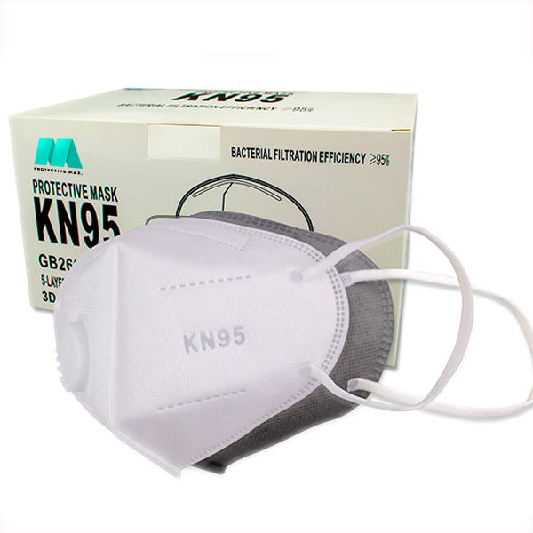 KN95 Protective Mask With Valve