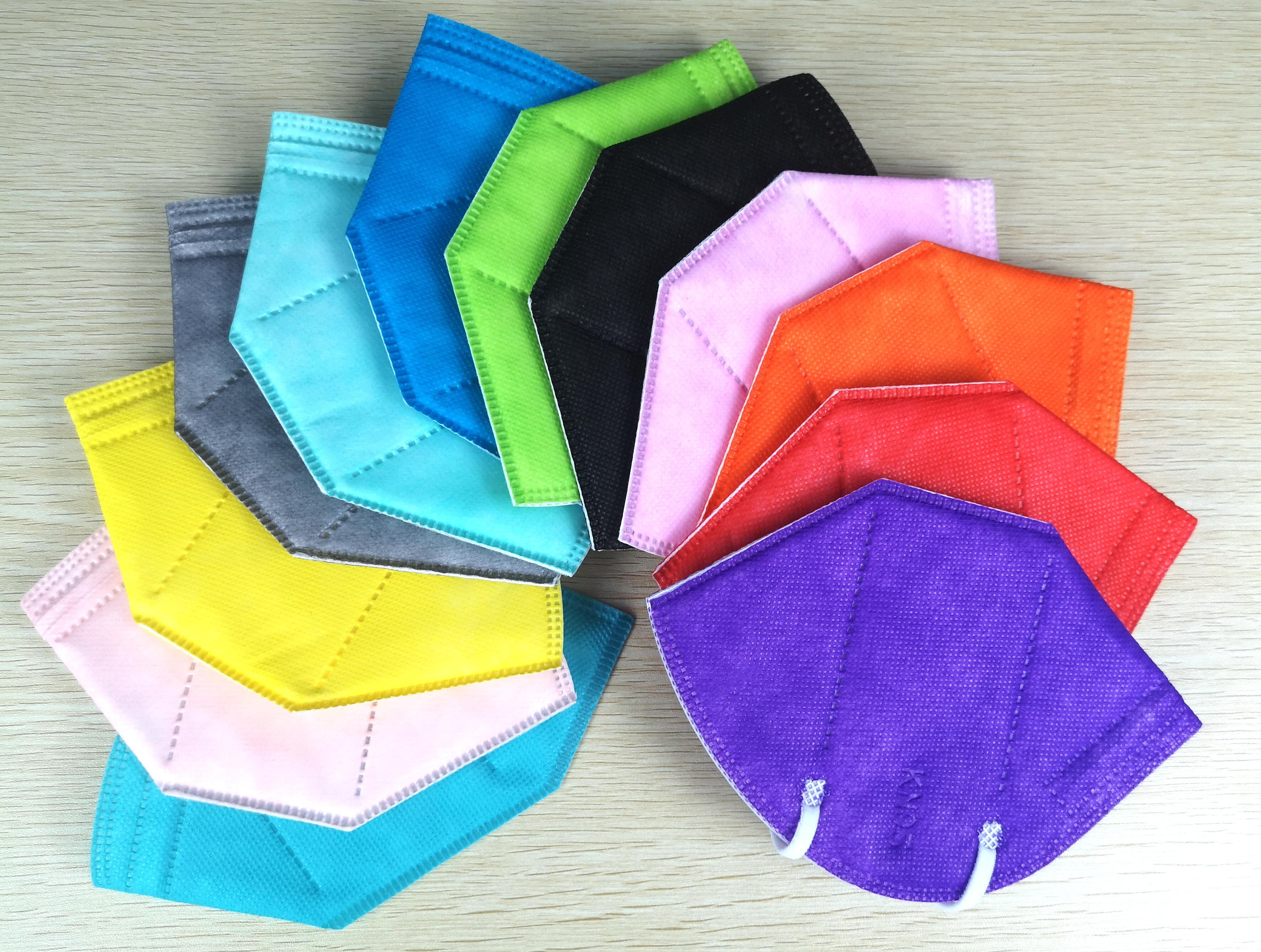 KN95 Protective Mask Non-medical In Different Colors