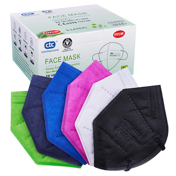 CTPL-0020 FFP2 Protective Respirator Face Mask Colors with CE0598