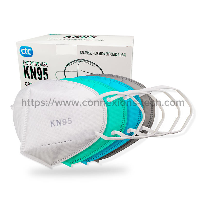 KN95 Protective Mask-White